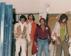 Elvis, Ginger and his entourage - Macon, Ga June 1, 1977