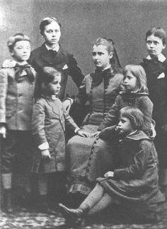 Mannerheim's mother Hélène (maiden name Julin) belonged to a well-known industrial family. Altogether there were eight siblings.  Sofia (Sophie) Mannerheim 21.12.1863-9.1.1928 - Carl Mannerheim 18.3.1865-6.7.1915-  Johan Mannerheim 27.12.1868-25.9.1934 - Eva Sparre 30.6.1870-1957 - Anna Mannerheim 4.3.1872-18.5.1886 - August Mannerheim 9.11.1873-22.4.1910 - Marguerite (Kissie) Gripenberg 15.10.1884-1958 National Sibling Day, Religious Studies, Siblings, Finland, Nostalgia, Celebrities, Movie Posters, Helsinki, Iris