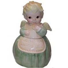 Angel Cookie Jar (Retired) - by Anna's of San Francisco c.2006