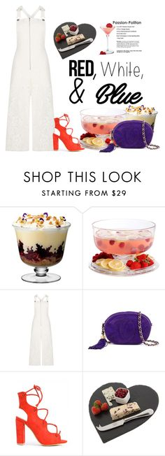 """""""RED White and Blue !!28 June 2016"""" by eiliana ❤ liked on Polyvore featuring LSA International, Gibson, BCBGMAXAZRIA, Chanel, Just Slate Company, redwhiteandblue and july4th"""