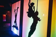 Trapeze Artist Silhouette Panel Prop 01 | Circus Themed Party | Circus Theme | Event Prop Hire