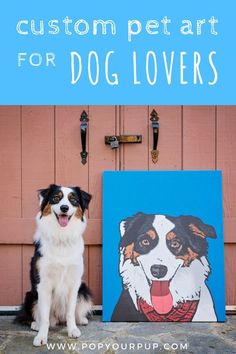 Looking for fun dog stuff for the home? :) Here's the perfect gift idea for the animal lover in your life! Our personalized pet art prints are THE coolest way to celebrate the love you have for your pup. These custom pop art prints are sure to please dogs and their owners alike!#giftideas#dogs#doglover