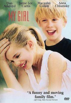 MY GIRL ~ Dan Aykroyd, Jamie Lee Curtis, Macaulay Culkin + Anna Chlumsky