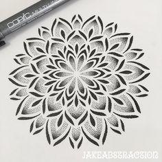 Search inspiration for a Geometric tattoo. Dotwork Tattoo Mandala, Geometric Mandala Tattoo, Mandala Flower Tattoos, Geometric Tattoo Design, Mandala Tattoo Design, Tattoo Designs, Flower Mandala, Dot Tattoos, Bild Tattoos
