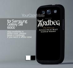 Ardbeg Distillery Single For Samsung Galaxy S3 Hard Plastik Black Case | YourCazeMate - Accessories on ArtFire