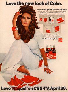 Celebrity Endorsements - Raquel Welch/Coke 1970