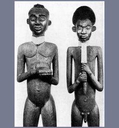 Kom Mbang Fon & Nafon Effigy Thrones, Cameroon