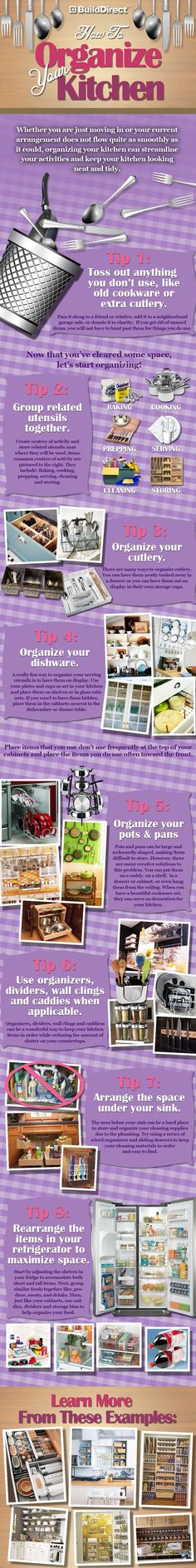 How To Organize Your Kitchen In 8 Steps