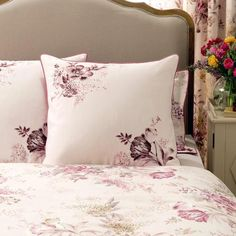 Dorma Pink Camilla Collection Continental Pillowcase