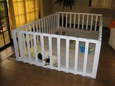 My son's play pen - DIY