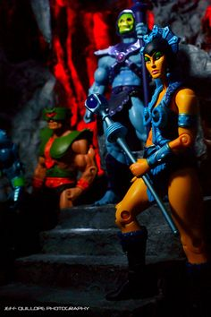 Masters of the Universe Classics  by Clarkent78 (Jeff Quillope) via Flickr