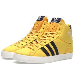 huge discount cfeac 8ae4e Buy the Adidas Basket Profi in Sunshine  Legend Ink from leading mens  fashion retailer END.