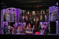 Theodore Morrison's Oscar from Santa Fe Opera. Directed by Kevin Newbury. Sets by David Korins.