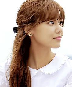Sooyoung SNSD Girls' Generation Closeup Goddess GIF