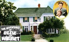 Ozzie & Harriet Nelson's House: Then & Now   hookedonhouses.net