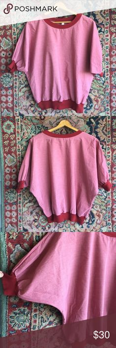 "American Apparel Top Pull over and go! Cuffed ribbed waistband and at arms. One size fits all! In excellent used condition with no issues. 25"" L and 16"" unstretched at hem. American Apparel Tops Blouses"