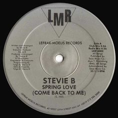 Stevie B - Spring Love (Come Back To Me) - 1988