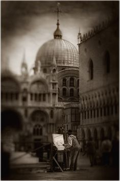 Once Upon A Time In Venice, photography by Biserko Fercek