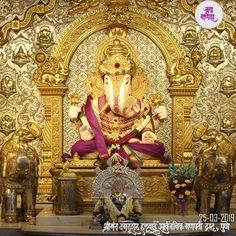 🌹🌷।। श्रीमंत दगडूशेठ हलवाई गणपती, पुणे - महाराष्ट्र ।। 🌹🌷 🌺 ll गणपती बाप्पा मोरया, मंगल मूर्ती मोरया ll 🌺 Ganesh Temple, Ganesh Lord, Dagdusheth Ganpati, Ganpati Bappa, Ganpati Festival, Ganesh Wallpaper, Ganesh Images, Shree Ganesh, Jai Hanuman