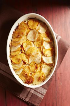 Sweet Potato Gratin #halloween #fall
