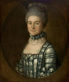 """Mrs. John Bolton"", Thomas Gainsborough, ca. 1770; Museu de Arte de Sao Paulo 199P"