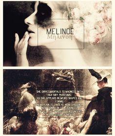 Melinoe, the Goddess of Ghosts.