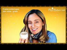 Crema hidratante antiarrugas piel mixta / grasa anti acné puntos negros by Pilar Nature - YouTube