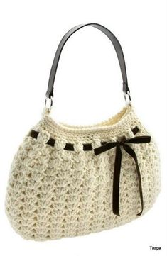 Elegant crochet bag (borsetta elegante all'uncinetto)