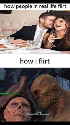 How people in real life flirt - iFunny :) Fallout Funny, Fallout 2, Fallout New Vegas, Fallout Vault, The Elder Scrolls, Gamer Humor, Gaming Memes, Video Games Funny, Funny Games