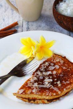 Low Carb Coconut Pancakes Recipe