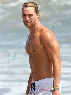Matthew McConaughey. Wow!