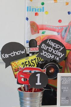 Little Wish Parties   Disney Cars Themed First Birthday Party   https://littlewishparties.com