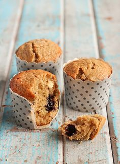 Blueberry, White Chocolate & Lime Muffins | by raspberri cupcakes