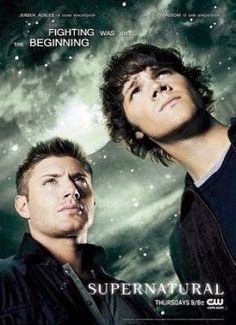 Dean and Sam Winchester #Supernatural starring #JensenAckles and #JaredPadalecki