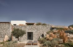 The Greek architecture practice K-Studio has recently completed Villa Mandra, a single-family home located on the hill of Aleomandra in Mykonos, Greece. #villa #mykonos #pool #greece #stone #stonehouse #architecture #architect #amazingarchitecture #design #interiordesign #interiordesigner #decor #homedecor #home #house #luxury #diy #travel #amazing #photography #realestate #casa #arquitecto #arquitectura #decoration #greekisland #aegansea #sea #nature #desert #swimmingpool #houseplan Greece Architecture, House Architecture, Amazing Architecture, Landscape Architecture, Studio Build, Mykonos Greece, Mykonos Island, Wooden Pergola, House Built