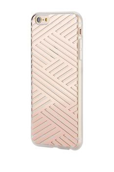 SONIX Crisscross Rose Gold iPhone 6 Case