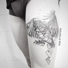#nouvellerita #owl #tattoo #linework #blackworkers