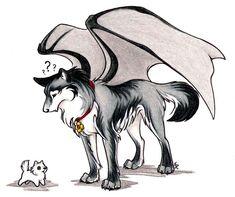 wild spirit wolf   Monty Makes A Friend...Sort Of by WildSpiritWolf
