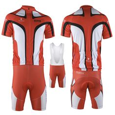 Cycling Bike Bicycle Clothing Jersey Shirts Bib Shorts Pants Set MC0012-80