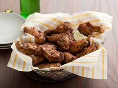 Sunny's Caribbean Chicken Wings    Sunny spices up her wings with a sweet-and-spicy marinade inspired by jerk chicken. Cook them on the grill for the last 20 minutes, brushing on sauce for a crispy crust.  Get The Recipe: