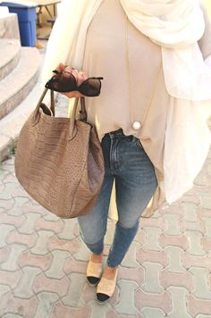 Classy hijab outfits http://www.justtrendygirls.com/classy-hijab-outfits/