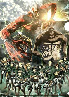 Shingeki no kyojin, Attack on titan, Animes, Hajime Isayama Attack On Titan Season, Attack On Titan Fanart, Attack On Titan Levi, Armin, Wallpaper Animé, Arte Final Fantasy, Manga Anime, Anime Art, Beast