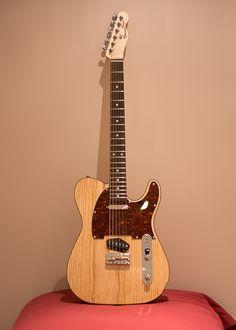 Bear Tele in Natural Swamp Ash Guitar Building, Brown Bear, Guitars, Ash, Natural, Guitar, Nature, Vintage Guitars, Au Natural