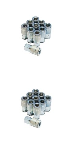 Air Tools 42340: Primefit Steel 4 Ball Female Automotive Coupler 10 Piece 1 4 In. Heavy Duty Zinc -> BUY IT NOW ONLY: $30.91 on eBay!