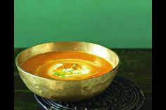 Dýňová polévka s majoránkou