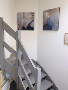 trap op maat in de toonzaal van trappen teck in puurs