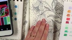 This tutorial addresses the problems colourists have with picking colours and planning their work. Using this multi part tutorial we will colour the grasshop...