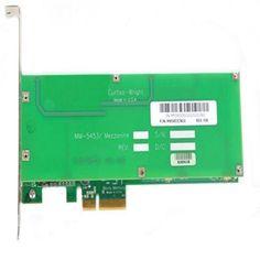 Curtis Wright MM-5453 w-Battery 1GB Mezzanine PCI-E Controller Card MM5453CN1G 98131