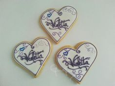 Violetta cookies