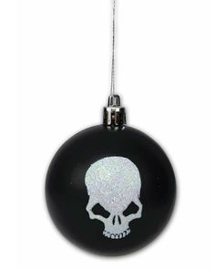 Creepmas Skull Tree Ornament #Christmas